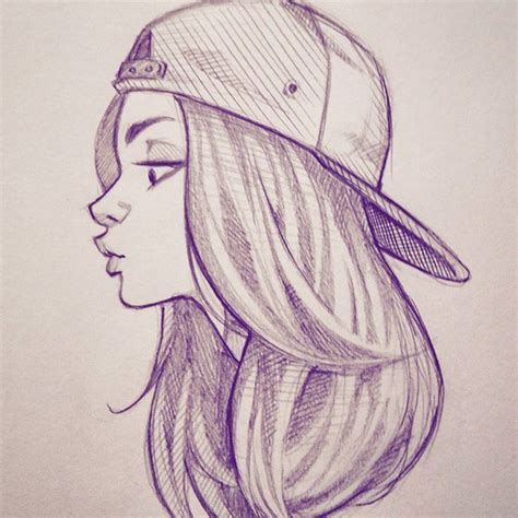 Best Ideas About Girl Drawings On Pinterest Pretty Girl Drawing Drawings Of People And
