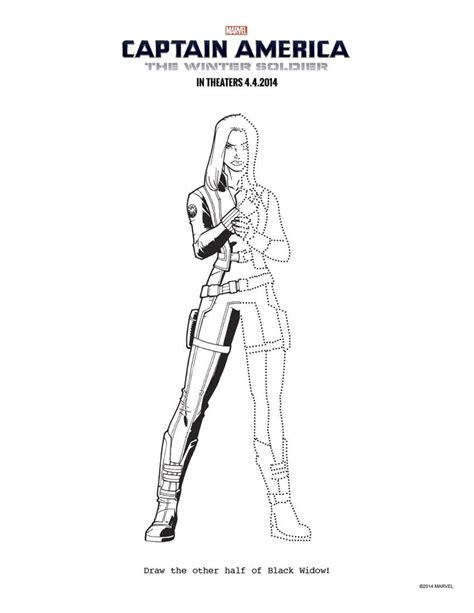 captain america winter soldier coloring page www