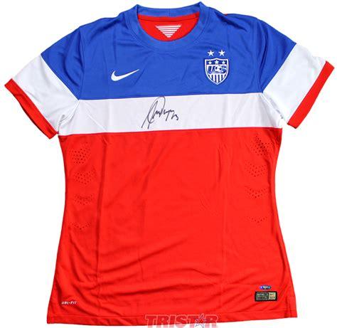 alex usa soccer jersey alex autographed usa soccer nike jersey