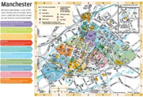 printable map leeds city centre manchester maps uk maps of manchester