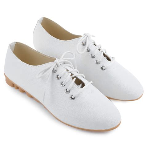 comfort shoes for women stylish women fashion leather lace up pointed toe comfort flat