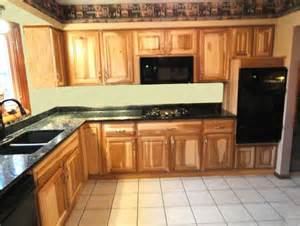 lowes hickory kitchen cabinets hickory kitchen cabinets with dark countertop home