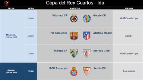 Calendario Lfp Copa Horarios De Cuartos De Ida Noticias