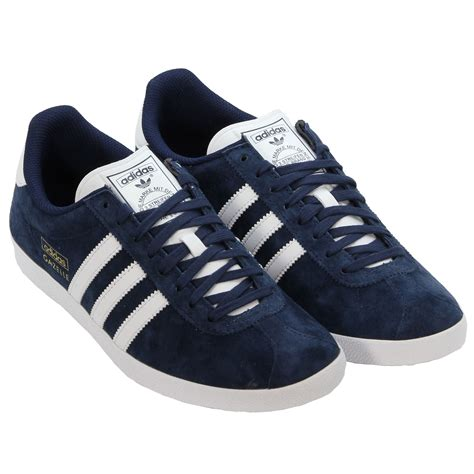 adidas originals gazelle og navy trainers trefoil sizes 7 12 shoes ebay