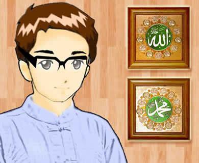 gambar kartun muslim laki galeri gambar dan foto kisah pemuda yang menemukan apel keimanan berbuah cinta