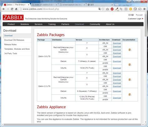tutorial zabbix centos 7 centos7 de zabbix server 電子計算機の操縦桿