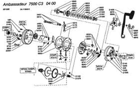 okuma reel parts diagram okuma reel schematics okuma spare parts okuma fishing