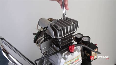 how to fix an alltrade air compressor not building up to the maximum pressure