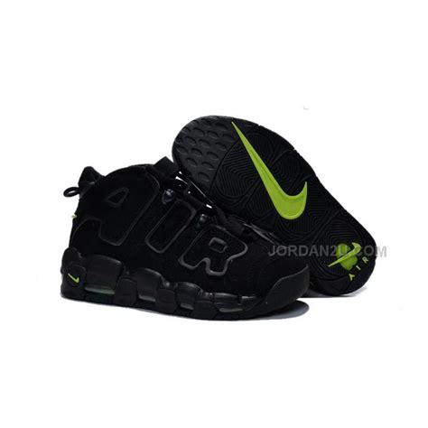 Harga Nike Air More Uptempo gs nike air more uptempo scottie pippen black and volt