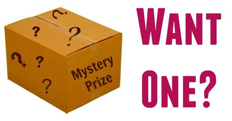 Free Prize Giveaway - giveaway free mystery prize winner announced