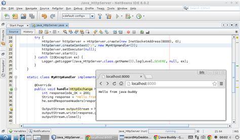 format html using java java buddy simple exle of java httpserver