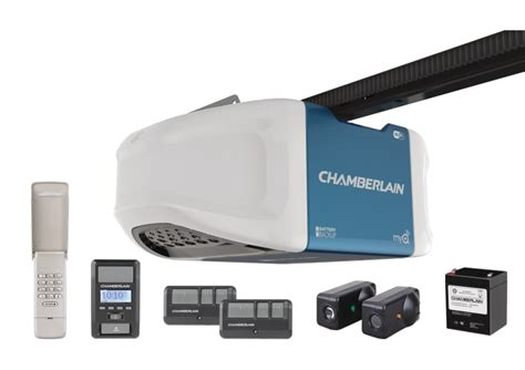Smart Garage Door Openers by Review Chamberlain Wifi Smart Garage Door Opener