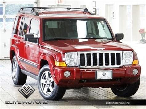 07 Jeep Commander For Sale Sell Used 07 Jeep Commander Sport 4wd Auto Moon Roof In