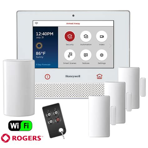honeywell lyric dual path canada wireless security system