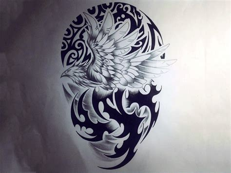 phoenix tattoo background best wallpaper hd 1080p free download 1366 215 768 tattoo