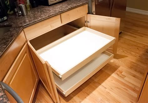 pots and pans drawer custom roll out shelves for kitchen cabinets pantries