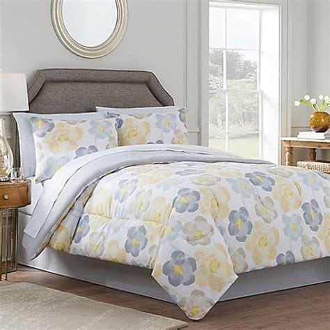 twin reversible comforter sets antonia reversible comforter set in yellow grey bed bath