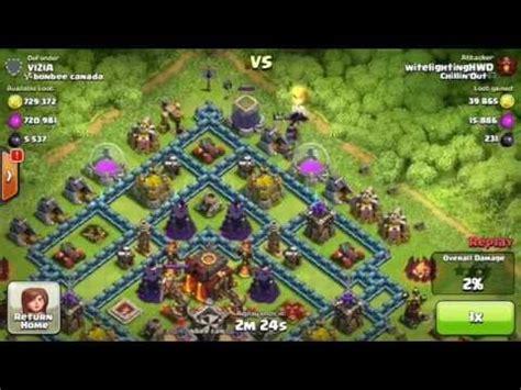 Kaos Coc Baloonion Minion clash of clans balloon minions vs max base