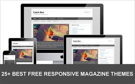 magazine responsive layout 15 best free responsive magazine themes designmaz