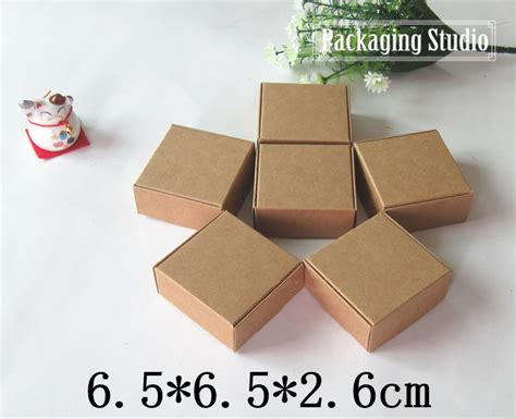 Craft Paper Gift Boxes - kraft paper cookies gift package box craft handmade soap