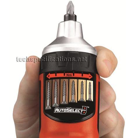 black decker as36ln black decker as36ln autoselect screwdriver tech specs