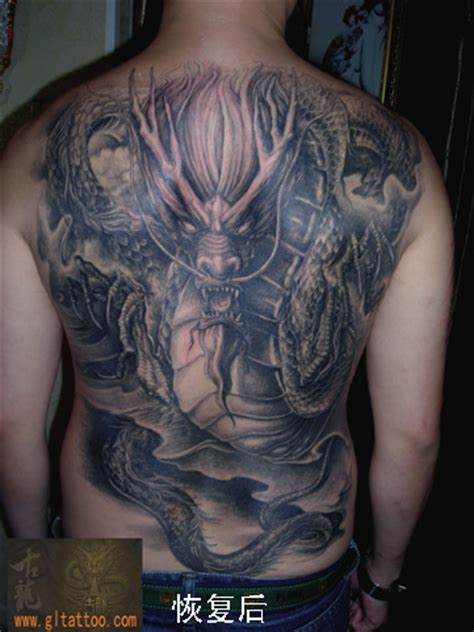tattoo dragon fantasy fantasy back dragon tattoo by gl tattoo