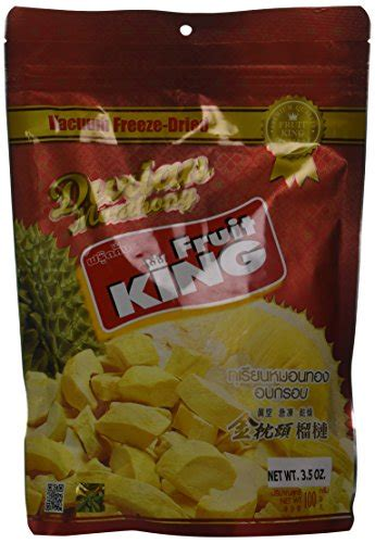 king fruit vacuum freeze dried durian fruit  oz