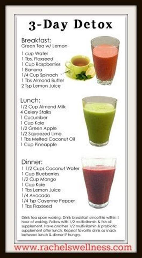 Whole Food Detox Drink by Simple 3 Day Juice Detox And Whole Foods 7 Day Detox For
