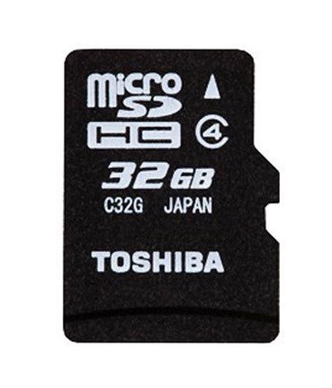 Toshiba Micro Sd 32gb Memory Sd Card Murah toshiba 32gb micro sd card class 4 memory cards