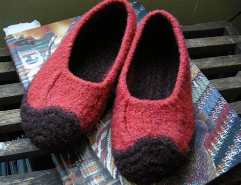 felted wool slipper patterns free ol duffers betz white