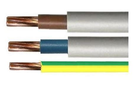 blue brown cable blue brown 16mm 25mm insulated tails 16mm