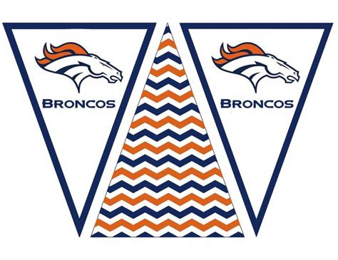denver broncos birthday card template 17 best images about bowl on