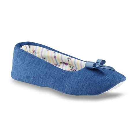 pink slipper shoes pink k s marla blue heathered ballet slipper shoes