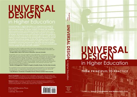 universal design principles and models books universal design in higher education