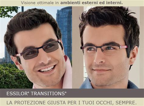 Cermin Crizal lenti essilor transitions news