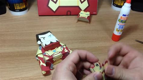 Paper Toys For To Make - momot ironman paper