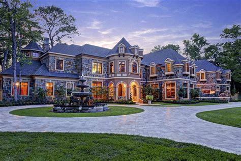 dreamhomes us front exterior houses pinterest stone house and mansion