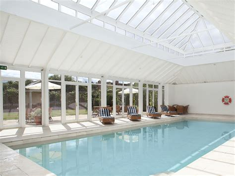 cottages with room and swimming pool bruern cottages the cotswolds the bon vivant journal