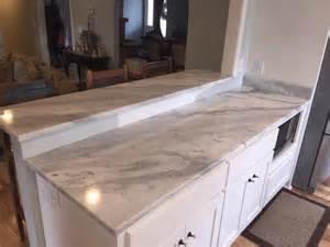 Home Decor Llc mont blanc 3cm quartzite contemporary kitchen other