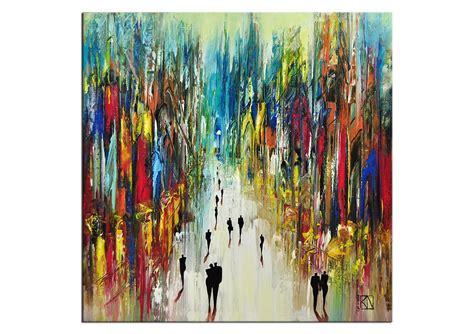 Moderne Kunst Vorlagen Acrylmalerei Bilder K Namazi Quot Gefrierende Zeit Quot E Reserviert Kunst Ab 500 Eur