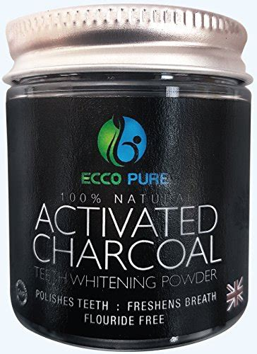 activated charcoal natural teeth whitening powder proven