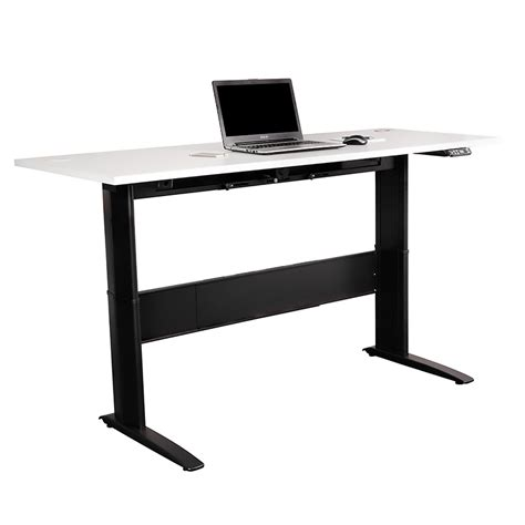Rize Electric Height Adjustable Sit Stand Desk Value Office Furniture Adjustable Height Desk