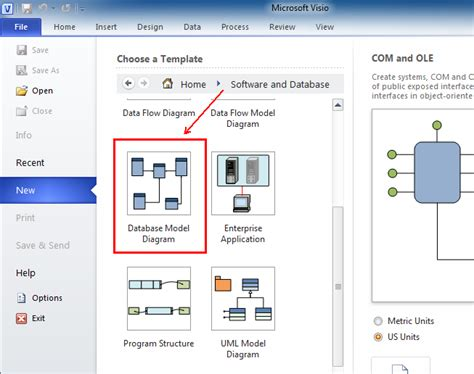 visio database model where is engineer in microsoft visio 2010 2013