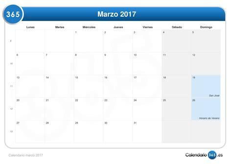 calendario marzo 2017 calendario marzo 2017