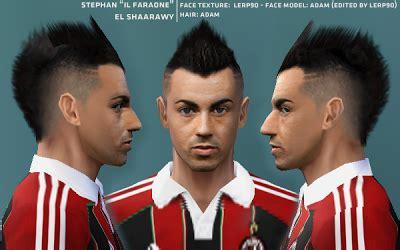 Hair Style El Sharawy Pes 6 | faces stephan el shaarawy pes 6 pes6 thai
