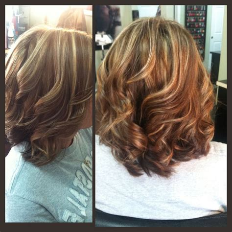 medium length highlighted hairstyles medium length brown hair with blonde highlights hair
