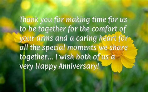 Wedding Anniversary Message To Us by Anniversary Quotes For Friend
