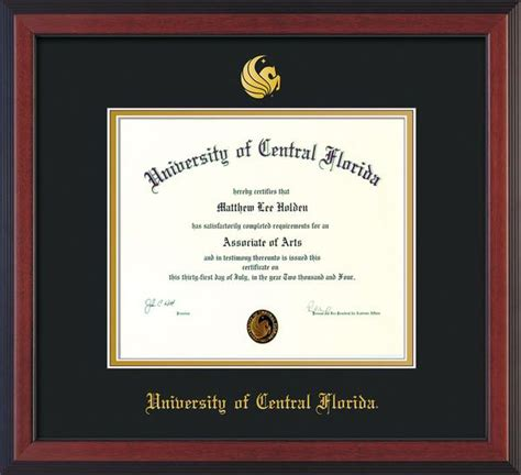 Engineering Mba Program Uf by Of Central Florida Diploma Frames Ba Ma And
