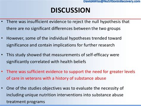 Substance Abuse Detox Topics by Wiss Thesis Defense Nutrition And Substance Abuse