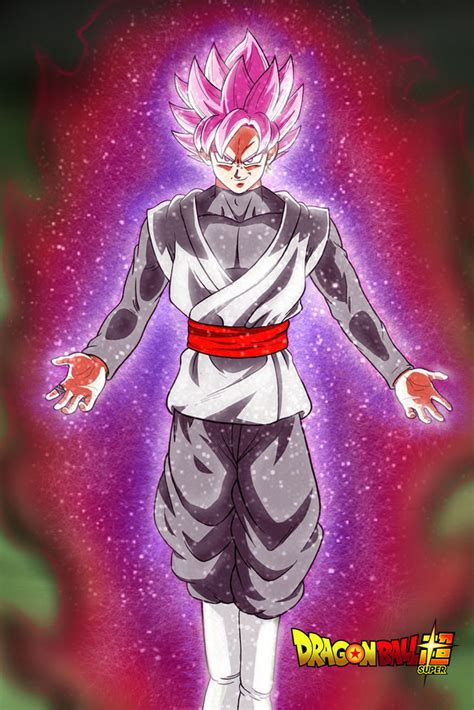 imagenes de goku rose dragon ball super poster goku black rose glowing 12in x